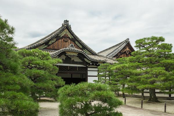 Hongaji temple in Kyoto