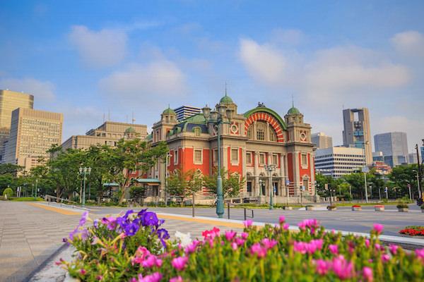 Osaka central public hall in Osaka
