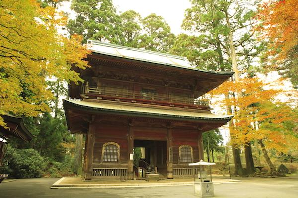 Enryakuji temple during Autumn