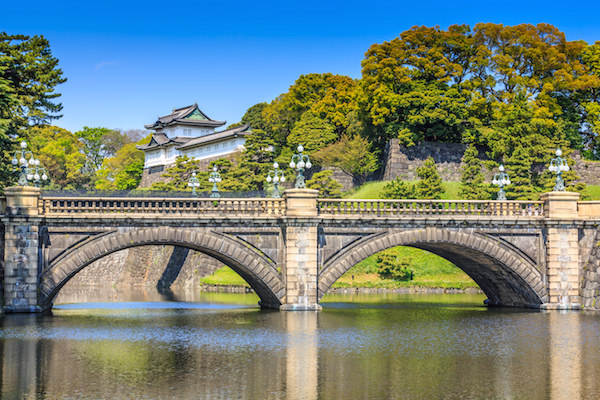 Imperial palace on a sunny summre day