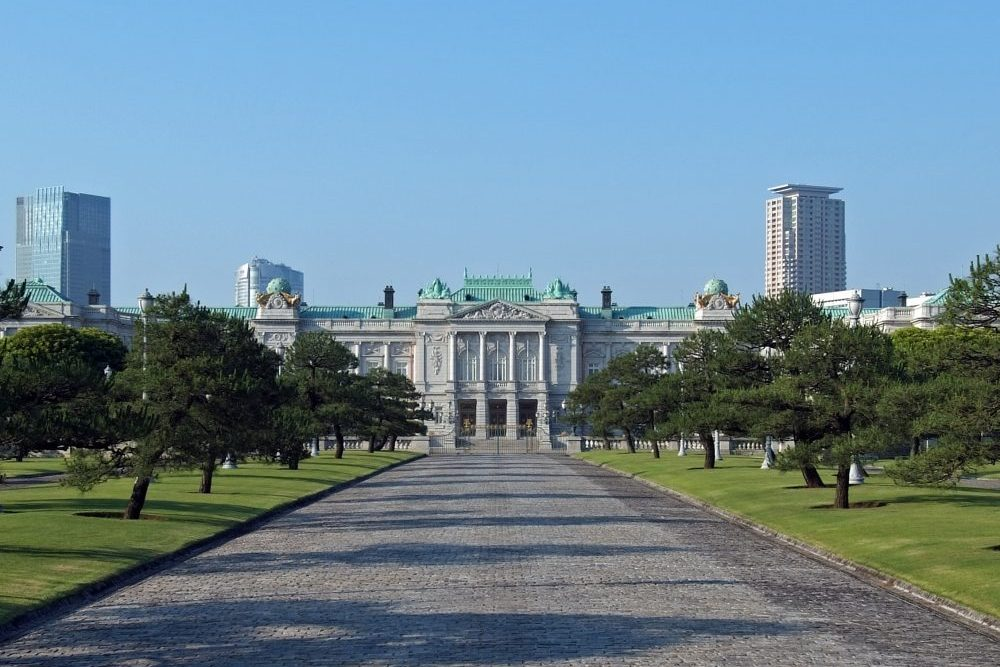 State Guest House, Akasaka Palace, JAPAN