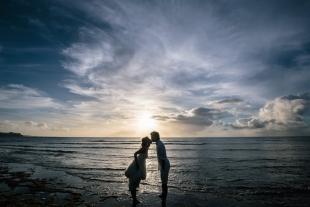 Beautiful photoshoot at the beach