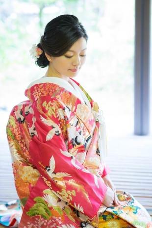 Pre-wedding Kyoto Kimono