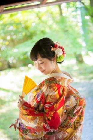 Pre-wedding Kyoto Kimno